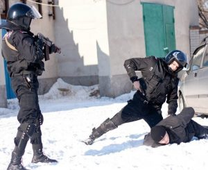 Реагирование группами задержания